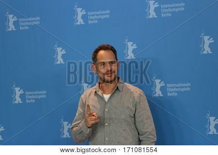 Moritz Bleibtreu attends the 'Bye Bye Germany' (Es war einmal in Deutschland) photo call during the 67th Berlinale Film Festival Berlin at Grand Hyatt Hotel on February 10, 2017 in Berlin, Germany.