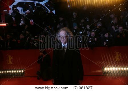 Geoffrey Rush attends the 'Final Portrait' premiere during the 67th Berlinale  Festival Berlin at Berlinale Palace on February 11, 2017 in Berlin, Germany.