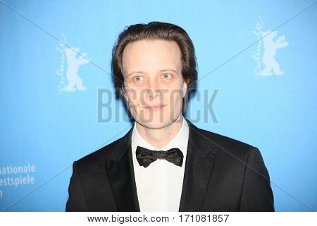 August Diehl attend the 'The Young Karl Marx' (Le jeune Karl Marx) photo call during the 67th Berlinale Festival Berlin at Grand Hyatt Hotel on February 12, 2017 in Berlin, Germany.