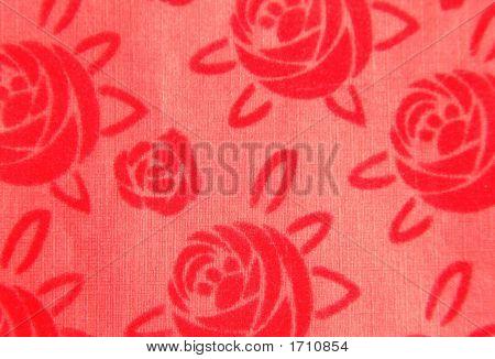 Paper Background Velvet Roses