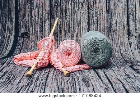 needlework. yarn. cotton. knitting. art. cotton. for children. for girl. Plain Fabric Yarn. High quality fabric yarn cones are made with recycled textiles and remnants from factories. Yarn baske