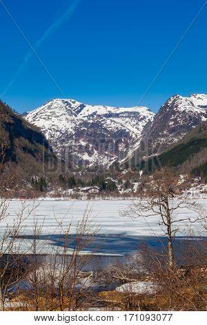 Winter Landscape West In Norway