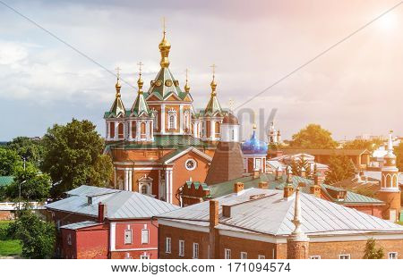 Cathedral of the Exaltation of the Holy Cross in Kolomna Kremlin Russia