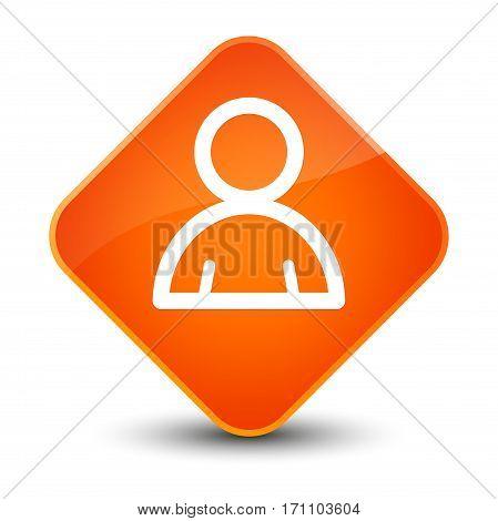 Member Icon Special Orange Diamond Button