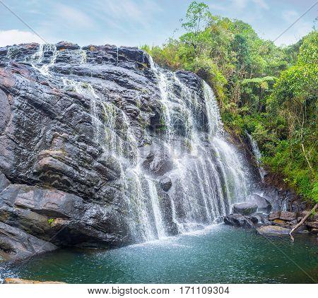 The Huge Waterfall