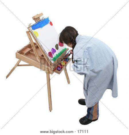 Chica pintura 03