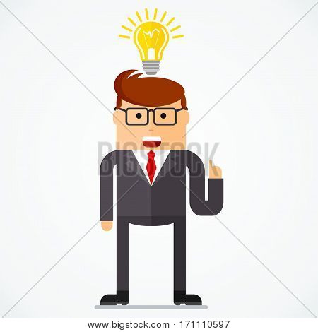 Business Character Idea