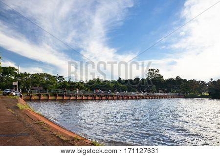 Igapo Lake Dam
