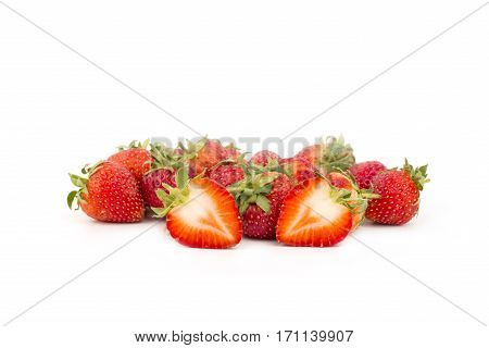 Fresh Strawberries Close-up.