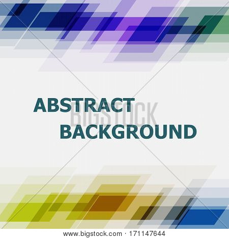 Abstract geometric overlapping dark tone background, stock vector