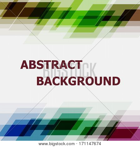 Abstract dark tone geometric overlapping design background, stock vector