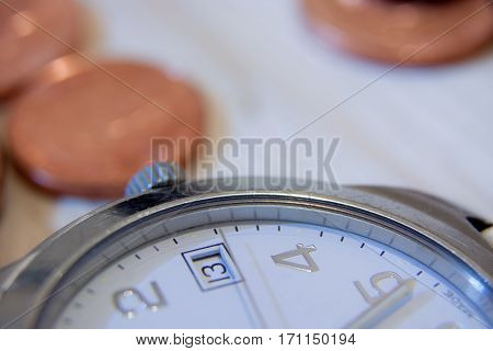 Time is Money Business Concept illustrating Finance/Banking/Investment