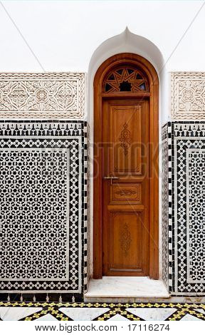 Small Morrocan Doorway