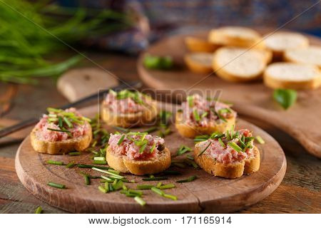Sandwich With Pate