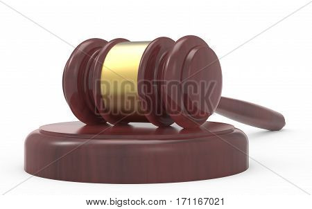 3D Rendering Gavel