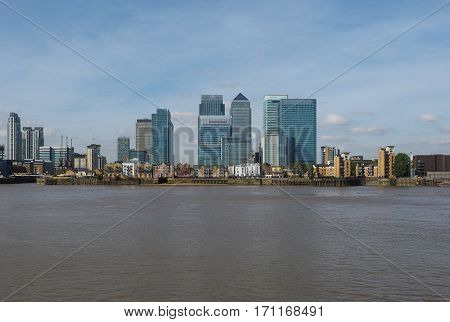Canary Wharf In London
