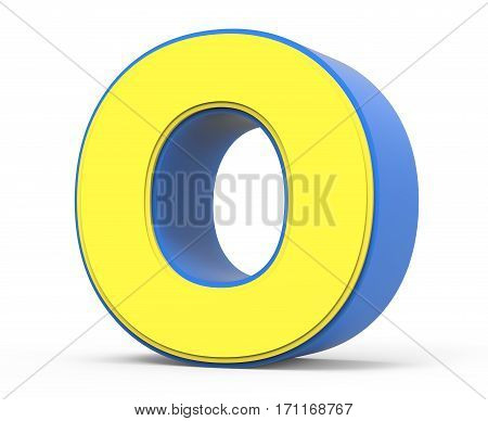 Cute Yellow Letter O