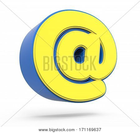 Cute Yellow Email Sign