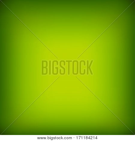 Bright colorful modern smooth juicy green yellow gradient color abstract background . Vector illustration blurred color blur gradient business graphic image soft ethereal backdrop template