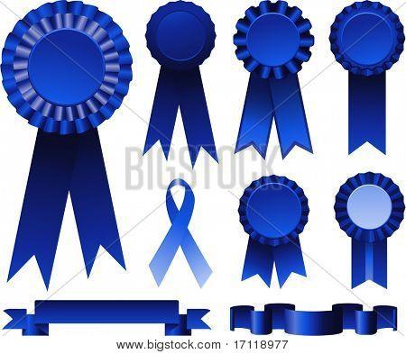 Fitas azuis