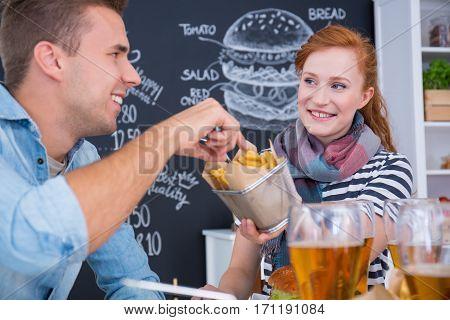 Sharing Junk Food
