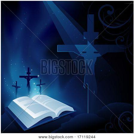 Христианство фон