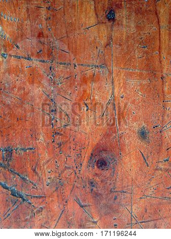 Image of a grunge rough wood board panel background