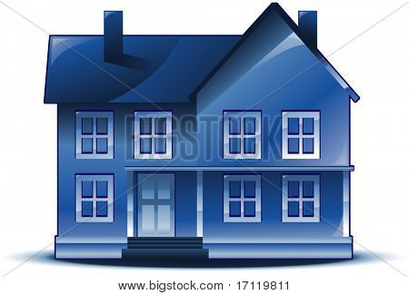 Vector illustration of house real estate