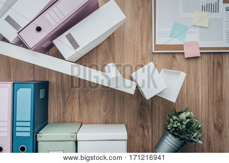 Crashing Shelf In The Office