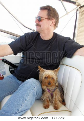 Woody And Andy On Boat