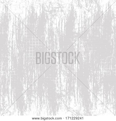 Vector background. Template, old style vintage design. Graphic illustration. Grey Grungy textured background with attrition, cracks and ambrosia.
