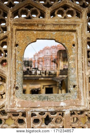 Details Of The Ancient Castle In Jaipur, India