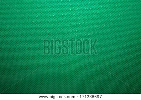 Close-up High quality texture green linen. Linen background