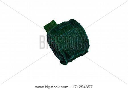 Green Boxing Bandage Isolated On White