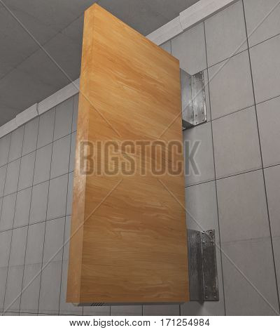 Vertical Wooden Stopper
