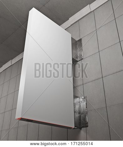Vertical White Stopper