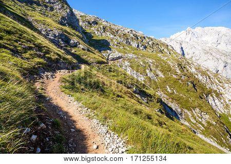 Spanish mountain landscape in all its splendor