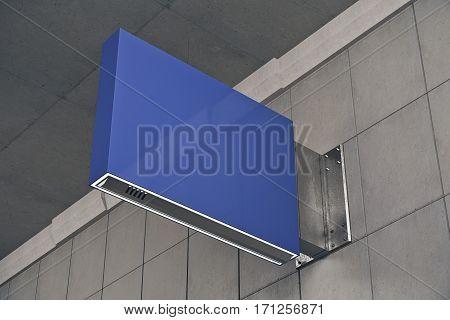 Square Blue Stopper