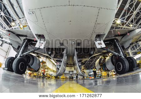 Airbus a319 Rossiya airlines, airport Pulkovo, Russia Saint-Petersburg 11 November 2016