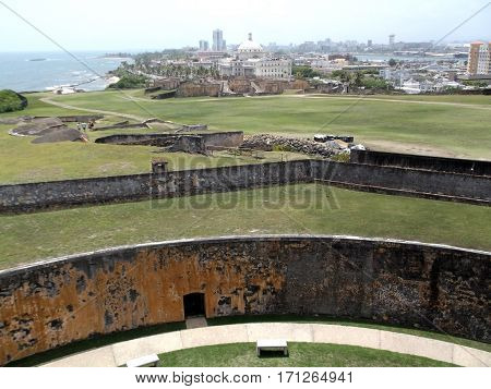 Old San Juan from Castillo San Cristobal