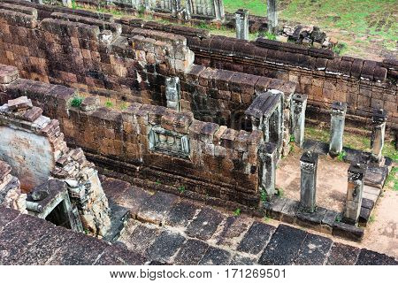 Pre Rup temple ruins in Angkor area, Siem Reap, Cambodia