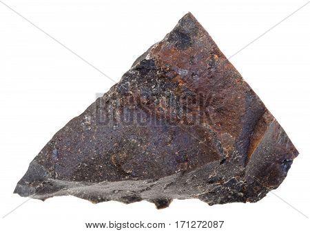 Specimen Of Tagamite (impact Melt Rock) Stone