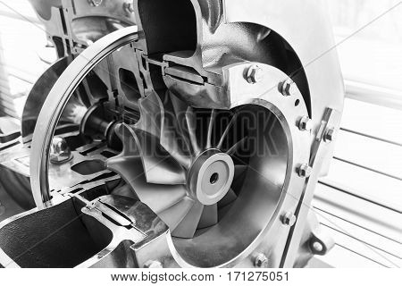 Turbocharger Structure Scheme