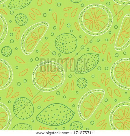 Pattern With Sliced Citrus