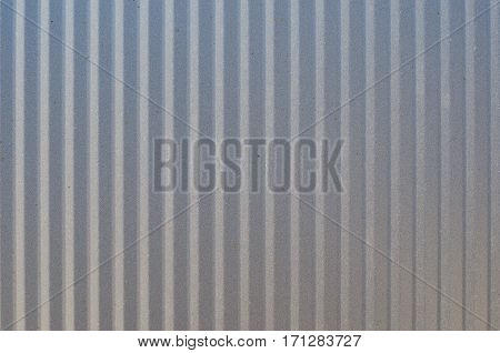 Corrugated metal texture surface. Corrugated sheet of metal background