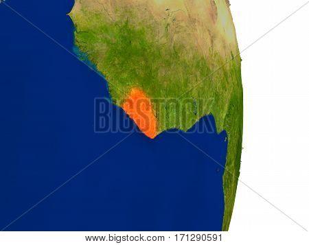 Liberia On Earth