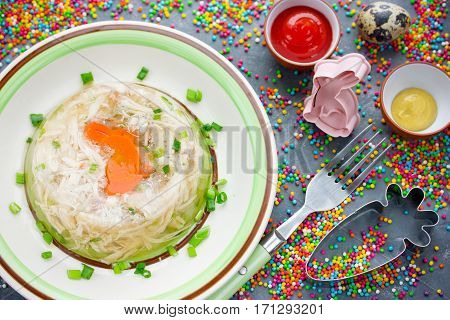 Easter dinner recipe - rabbit galantine aspic