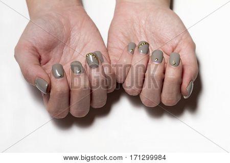 Manicure - Beauty Treatment Photo Of Nice Manicured Fingernails.
