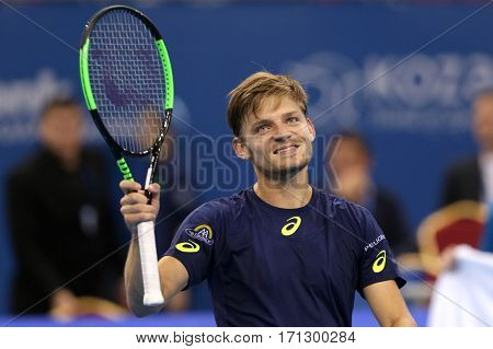 Tennis Player David Goffin