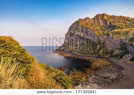 Jeju-Do Seongsan Ilchulbong Jeju Island South Korea